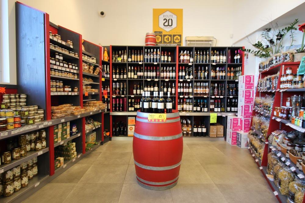 Maison Bertrand - La cave à vins