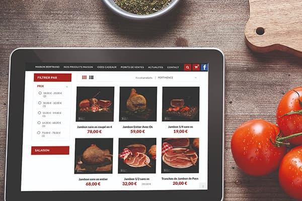 Maison Bertrand - Boutique en ligne
