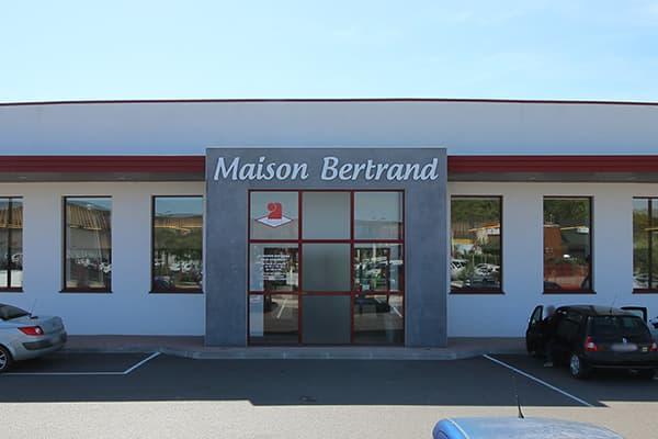 Maison Bertrand - Boutique en zone industrielle