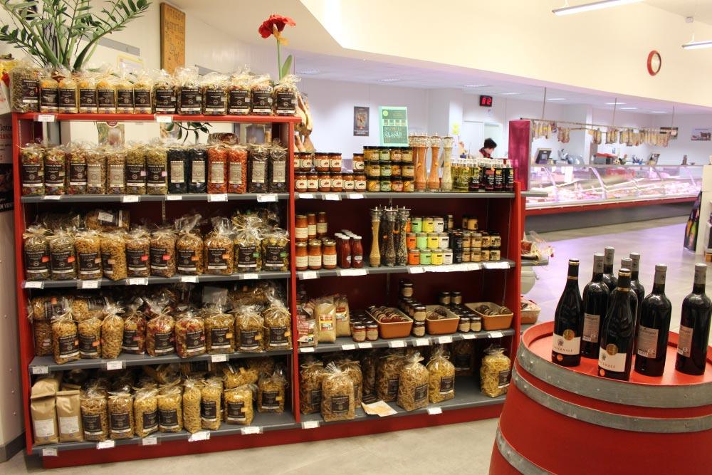 Maison Bertrand - Vitrine produits régionaux