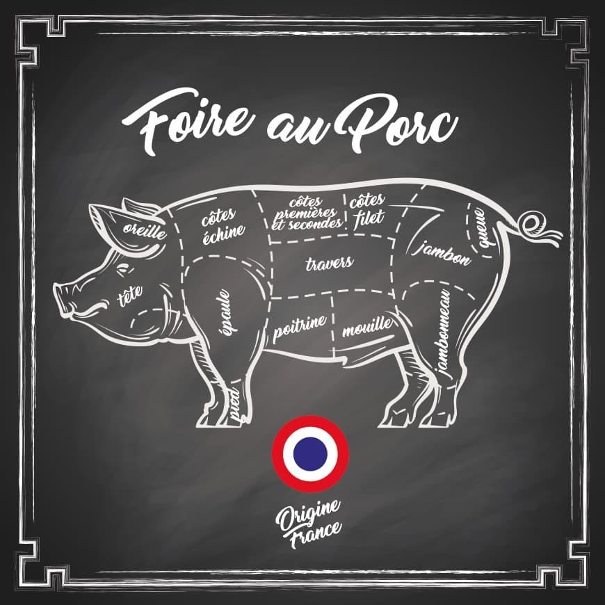 Foire au porc du 9 au 17 janvier